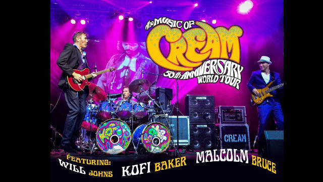 Your chance to have a pair of tickets to see The Music of Cream 50th Anniversary Tour 2019