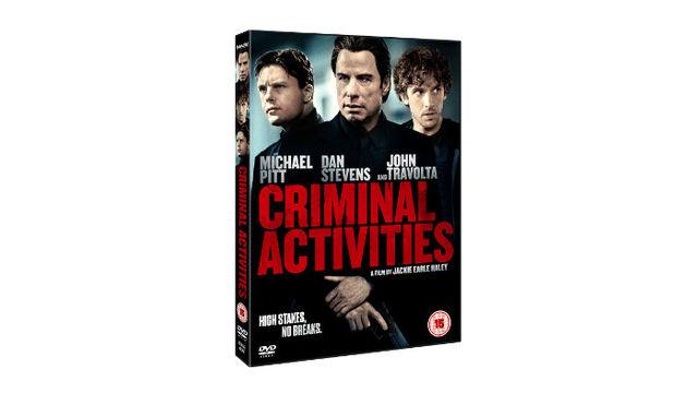 Criminal Activities starring John Travolta, Michael Pitt and Dan Steven