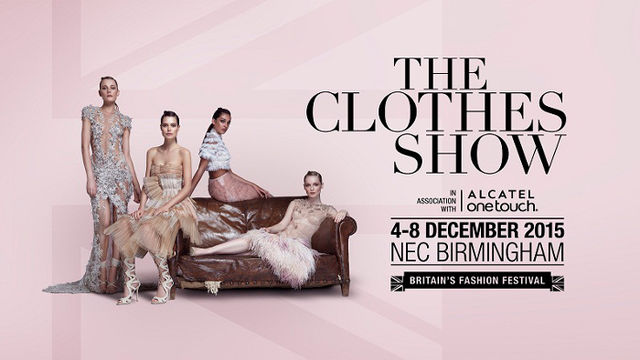 The Clothes Show at NEC, Birmingham on Friday 4th December