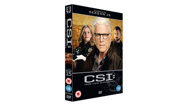 CSI: THE FINALE DVD Box Set
