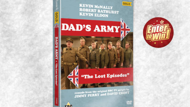 Dad's Army: The Lost Episodes DVD up for grabs