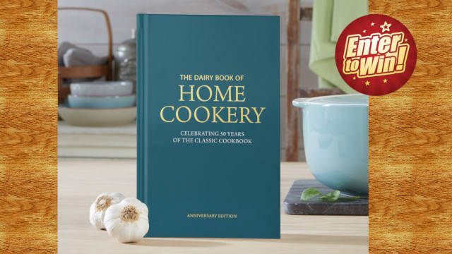 WIN 1 of 5 copies of the Dairy Book of Home Cookery from Dairy Diary