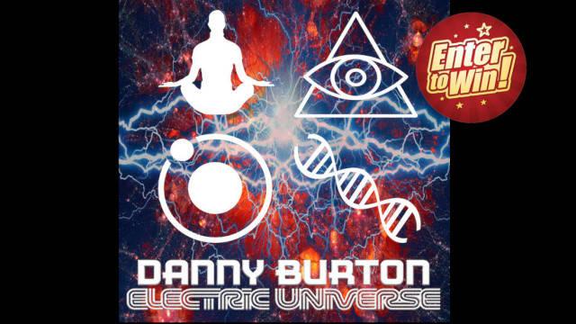 WIN PROMO SIGNED COPY OF DANNY BURTON'S 'ELECTRIC UNIVERSE' ALBUM