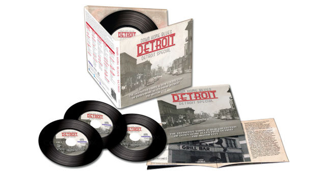 Down Home Blues Detroit is THE definitive collection of blues music from Detroit-based musicians from the late 1940s to the early 1960s.