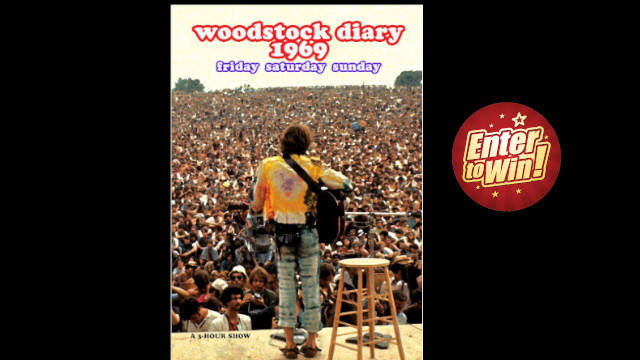 Woodstock Diary 1969 DVDs up for grabs