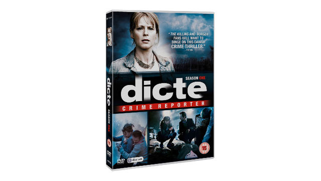 DICTE Crime Reporter Season One DVD