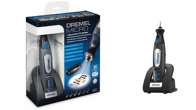 Dremel's new Micro cordless lithium-ion multi-tool
