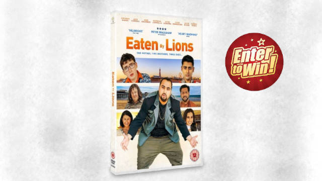 EATEN BY LIONS DVD up for grabs