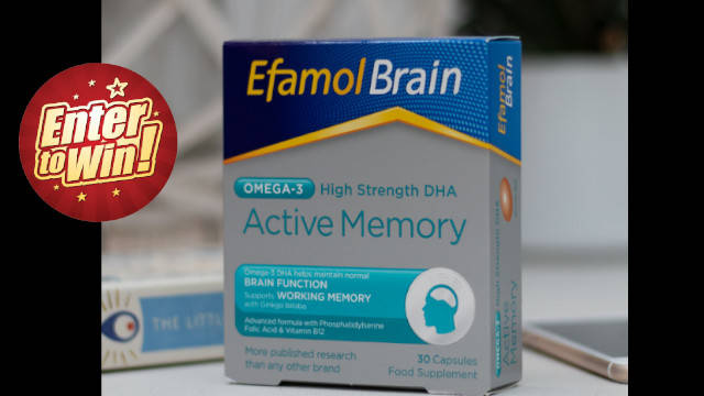 Your chance to have a 3-month supply of Efamol® Brain Active Memory