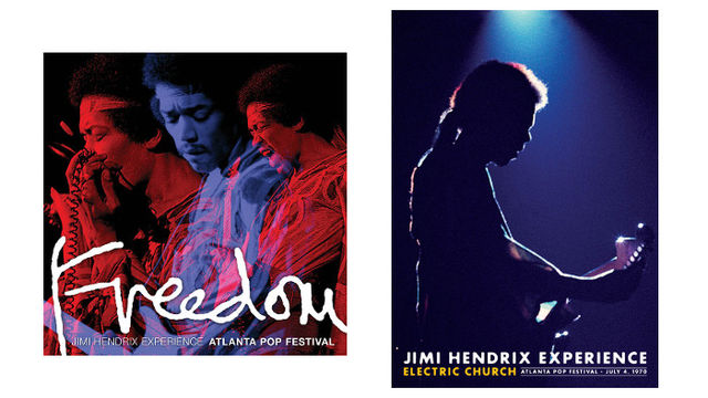Freedom: Jimi Hendrix Experience Atlanta Pop Festival (2CD) & Jimi Hendrix Electric Church (DVD)