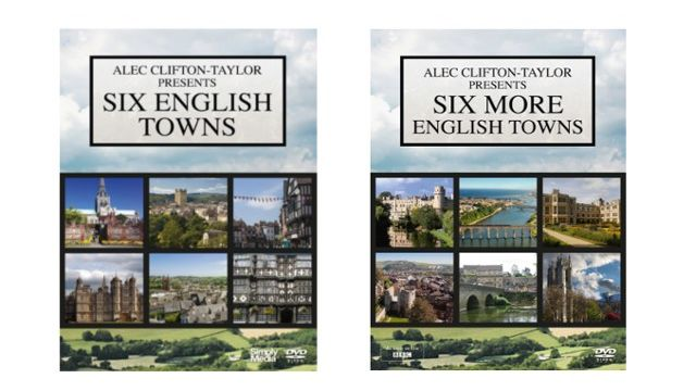 Six English Towns and Six More English Towns DVDs