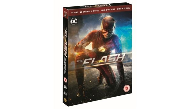 The Flash (Season 2) on DVD