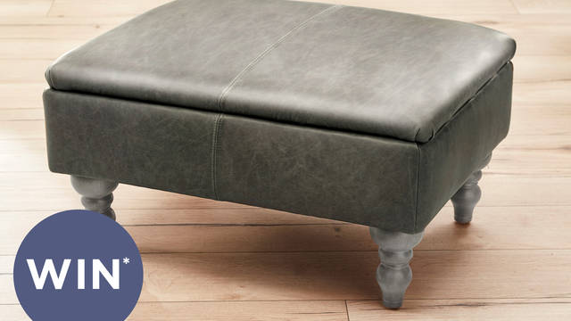 Win a beautiful, handcrafted Glenmore footstool
