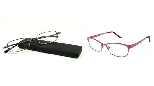 Magnivision eReaders & Fold Flat reading glasses by Foster Grant