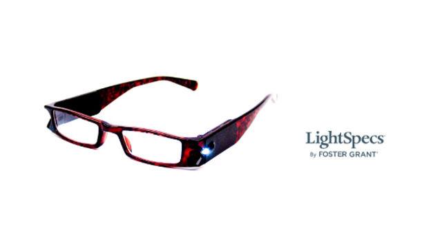 Foster Grant LightSpecs™ lighted reading glasses