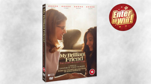 My Brilliant Friend: The Story of a New Name DVDs up for grabs