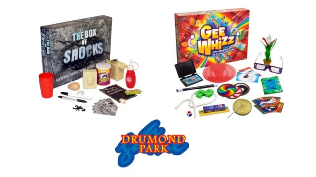Gee Whizz and The Box of Shocks Games bundle from Drumond Park