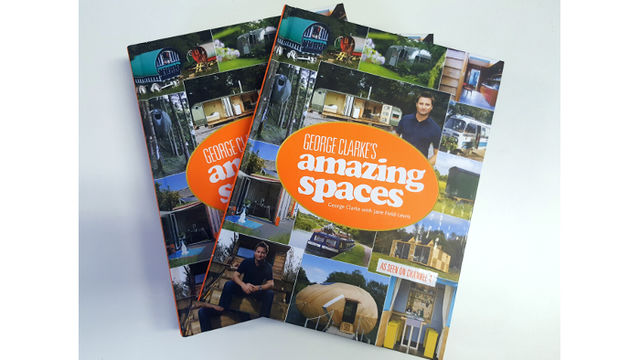 Signed copy of George Clarke's Amazing Spaces