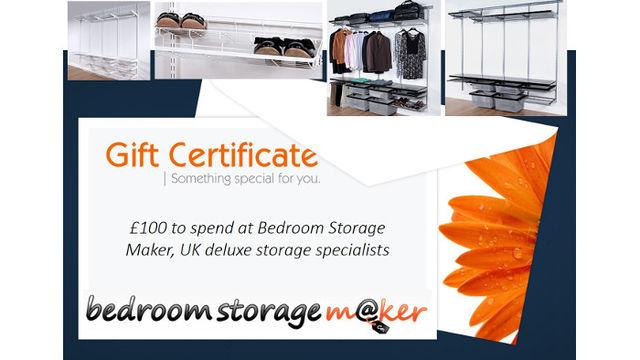 £100 Bedroom Storage Maker voucher
