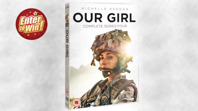 Our Girl Series 4 DVDs up for grabs