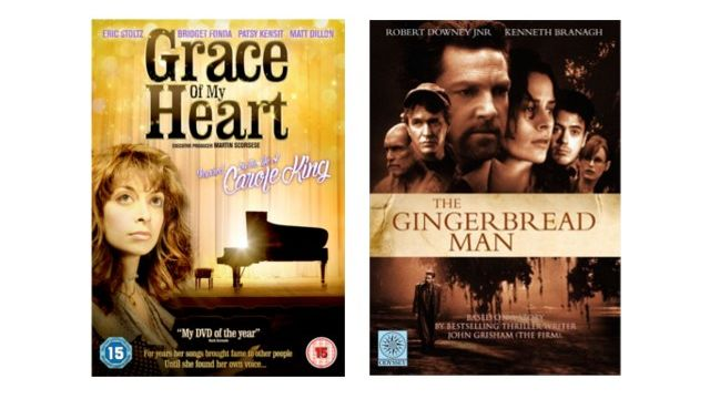 Bundle of The Gingerbread Man and Grace of My Heart DVDs