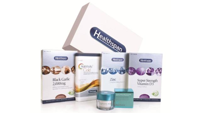 Win a Wellbeing Pack (Black Garlic, Zinc, Super Strength Vitamin D3, MultiVitality Gold) from Healthspan