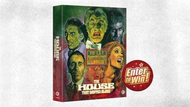 The House that Dripped Blood Limited Edition Blu-ray Box Sets up for grabs