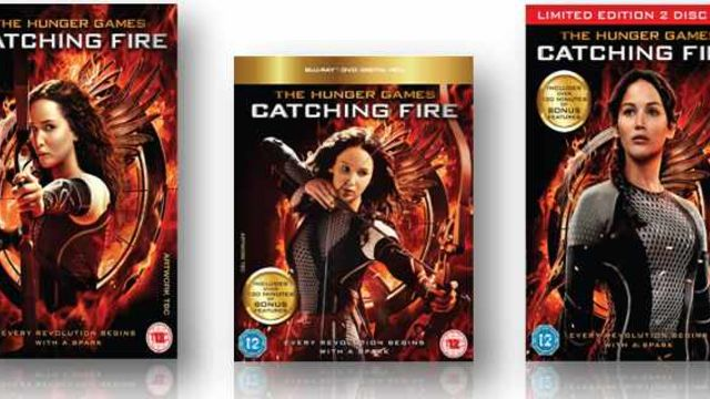 The Hunger Games - Catching Fire DVD prize