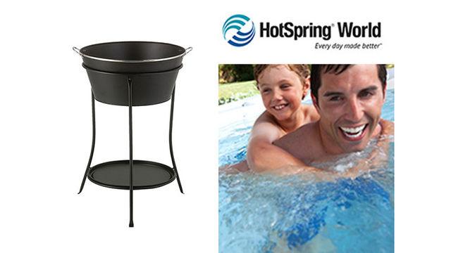 HotSpring World Luxury Ice Bucket (worth £60 each)