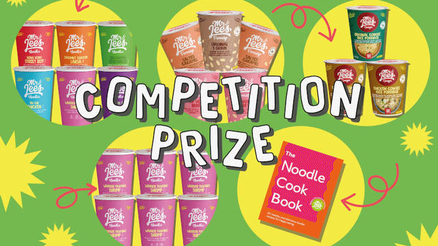 Win a pack of healthy premium instant foods and a cookbook from Mr Lee's Pure Foods (Worth £64.99)