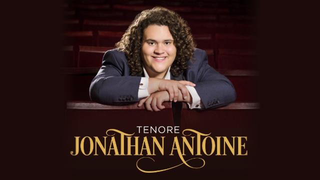 "Jonathan Antoine's debut solo album ""Tenore"""