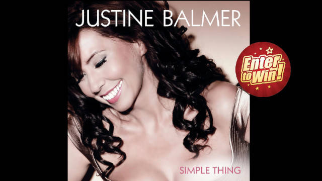 Signed Promo Debut Album 'Simple Thing' From Justine Balmer up for grabs