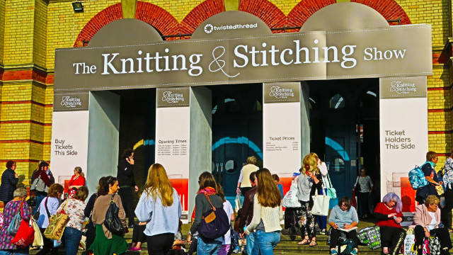 Your chance to have a pair of tickets to The Knitting & Stitching Show at Alexandra Palace, London 2019