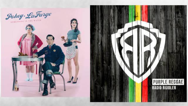 Win a bundle of Pokey LaFarge 'Something in the Water' & Radio Riddler 'Purple Reggae' CDs