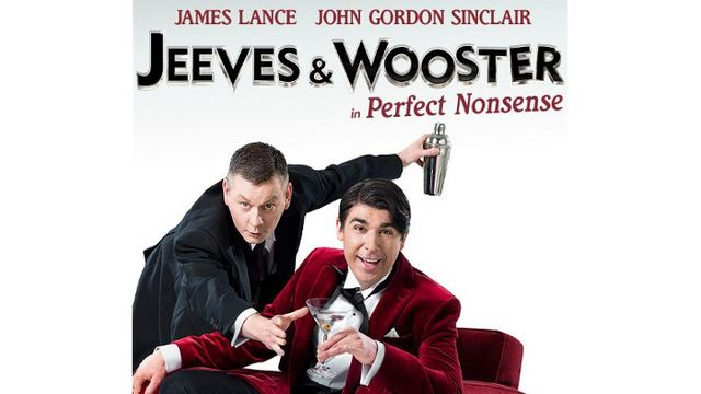 James Lance and John Gordon Sinclair as Jeeves & Wooster in Perfect Nonsense