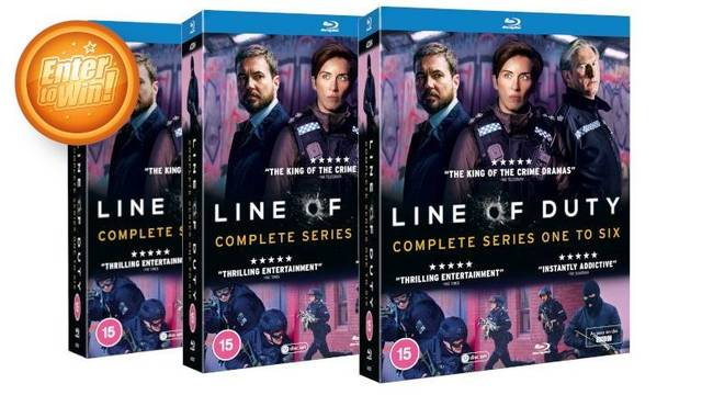 Line of Duty Complete Series One To Six bumper Blu-ray box sets up for grab