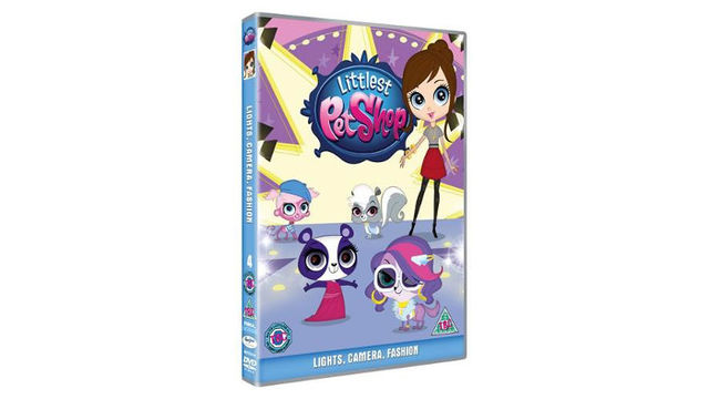 Littlest Pet Shop: Lights Camera Fashion DVD