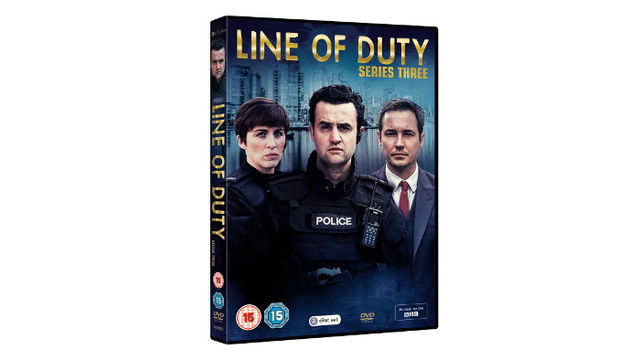 Line of Duty Series Three DVD