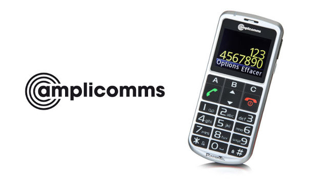 amplicomms M8000 mobile phone