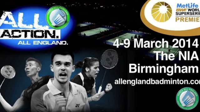 Win tickets to The Yonex All England Open Badminton Championships