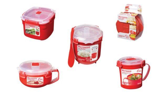 Sistema Microwave Cookware range