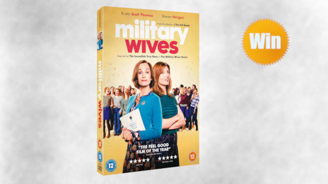 Win a copy of Military Wives on DVD to enjoy at home!