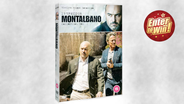 Inspector Montalbano Collection 10 DVDs up for grabs