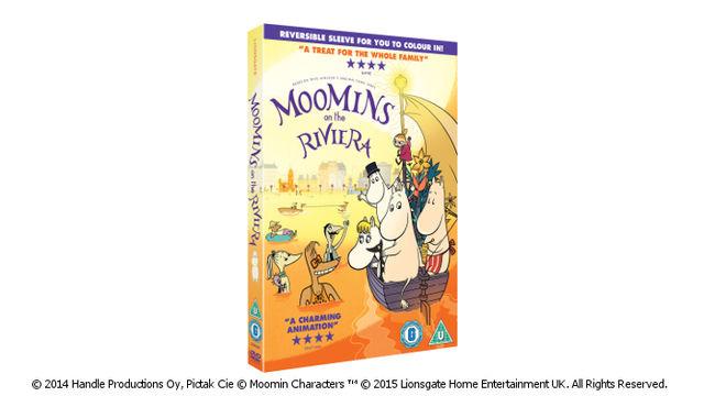 Moomins On The Riviera on DVD