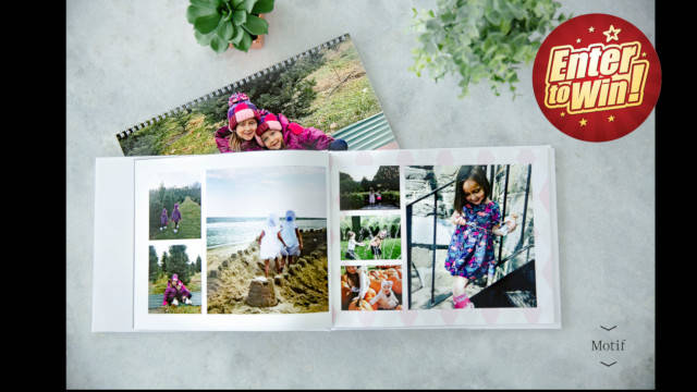 Win £50 worth of personalised photo products with Motif!
