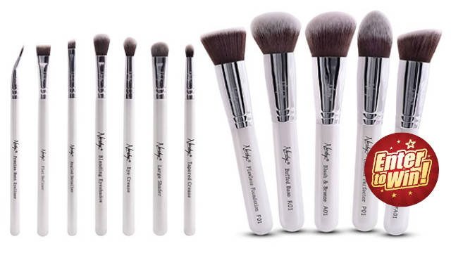 Your chance to have the Nanshy Makeup Brushes for Face & Eyes (worth £64.90)