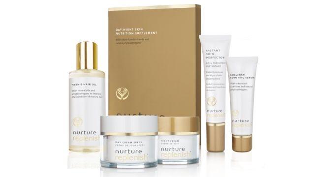 Nurture Replenish skincare package