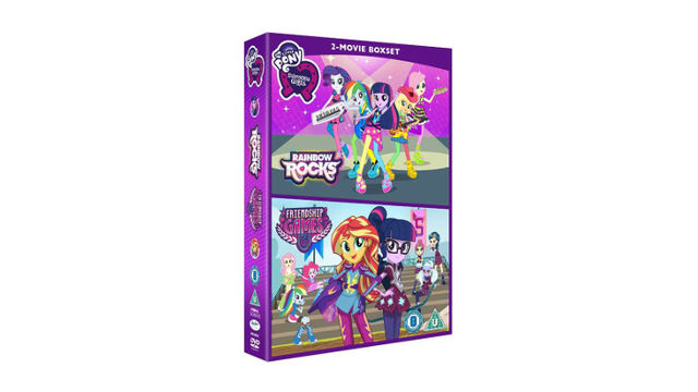 Win EQUESTRIA GIRLS: RAINBOW ROCKS AND FRIENDSHIP GAMES Movie Box Set on DVD