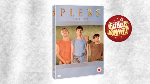Plebs (Series Five) DVDs up for grabs