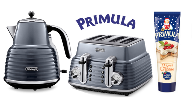 De'Longhi Scultura Toaster and Kettle Set (worth £200)
